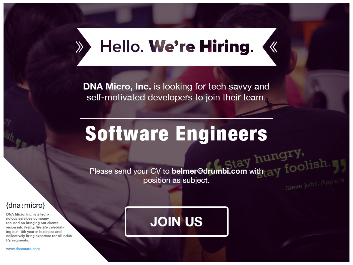 DNA Micro Software Engineers